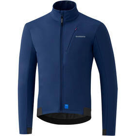 Shimano Softshell Jacket Men blue